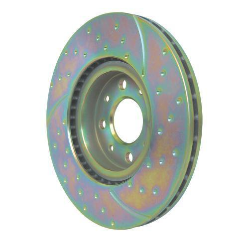 EBC Brakes GD1520 3GD Series Dimpled and Slotted Sport Rotor