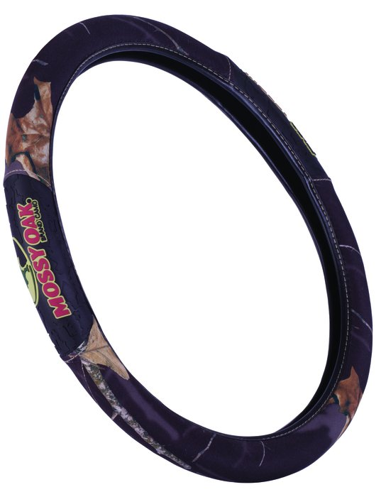 Country//Stripes Truck Mossy Oak Camo Steering Wheel Cover