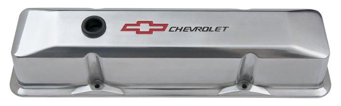 Proform 141116 Valve Cover ChevroletampBowtie Emblem  DieCast
