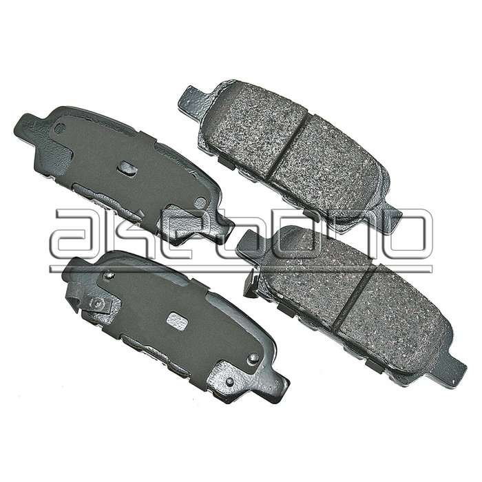 Akebono ACT954 Proact Ultra Premium Ceramic Disc Brake Pad kit