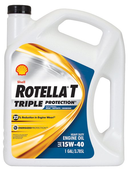 'Shell Rotella Oil Pep Express Banner'