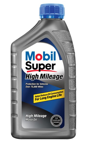 'Mobil Super High Mileage Oil Pep Express Banner'