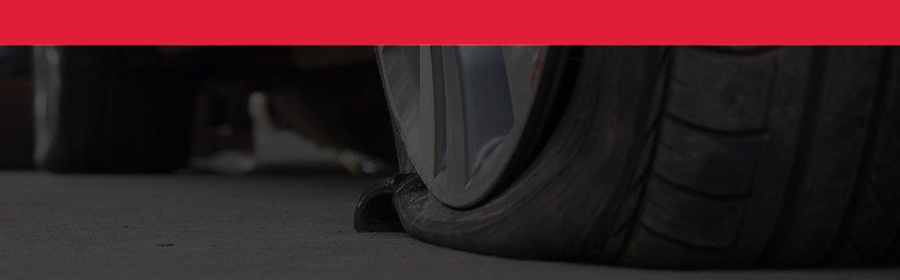 'Tire Warning Banner'