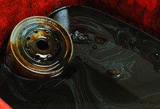 'Myths of Motor Oil Motor oil black Banner'