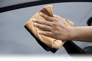 'Drying Your Car Banner'