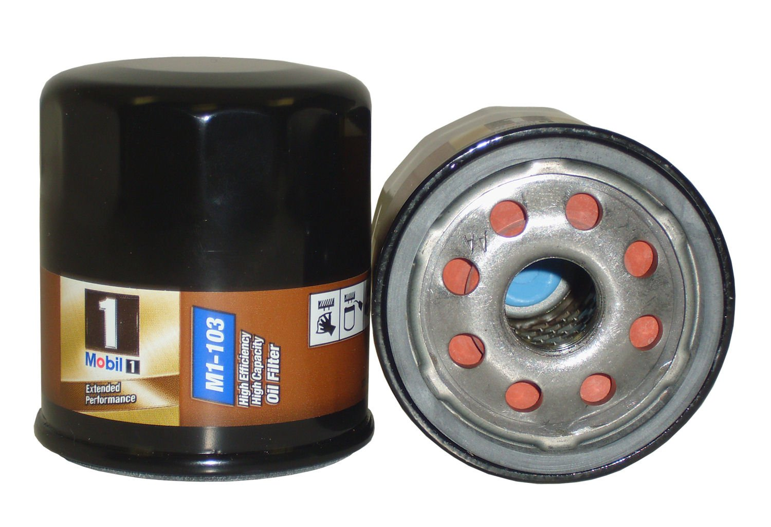 Mobil 1 Oil Filter >> Details About Mobil 1 Extended Performance High Efficiency High Capacity Oil Filter M1 104a