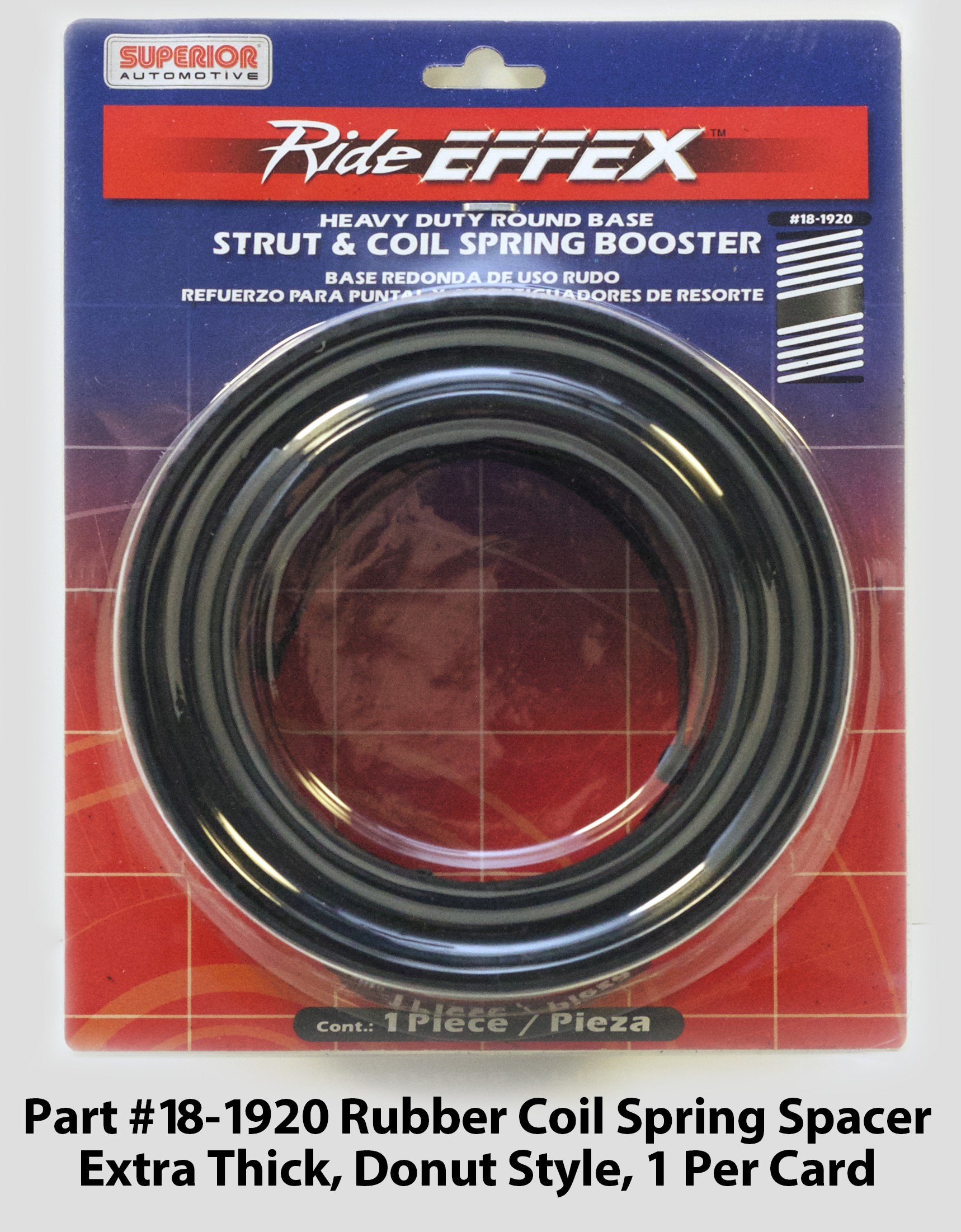 Superior Automotive Rideeffex Spacer Coil Spring Rubber