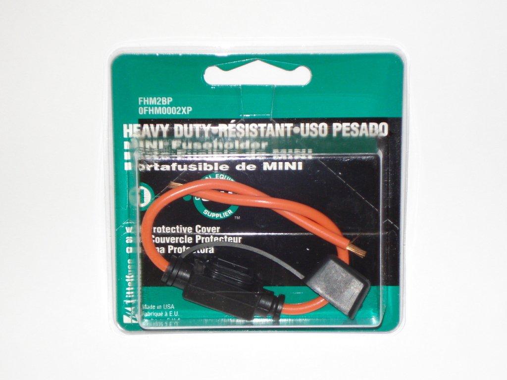 Littelfuse Heavy Duty Mini Fuse Holder 0fhm0002xp
