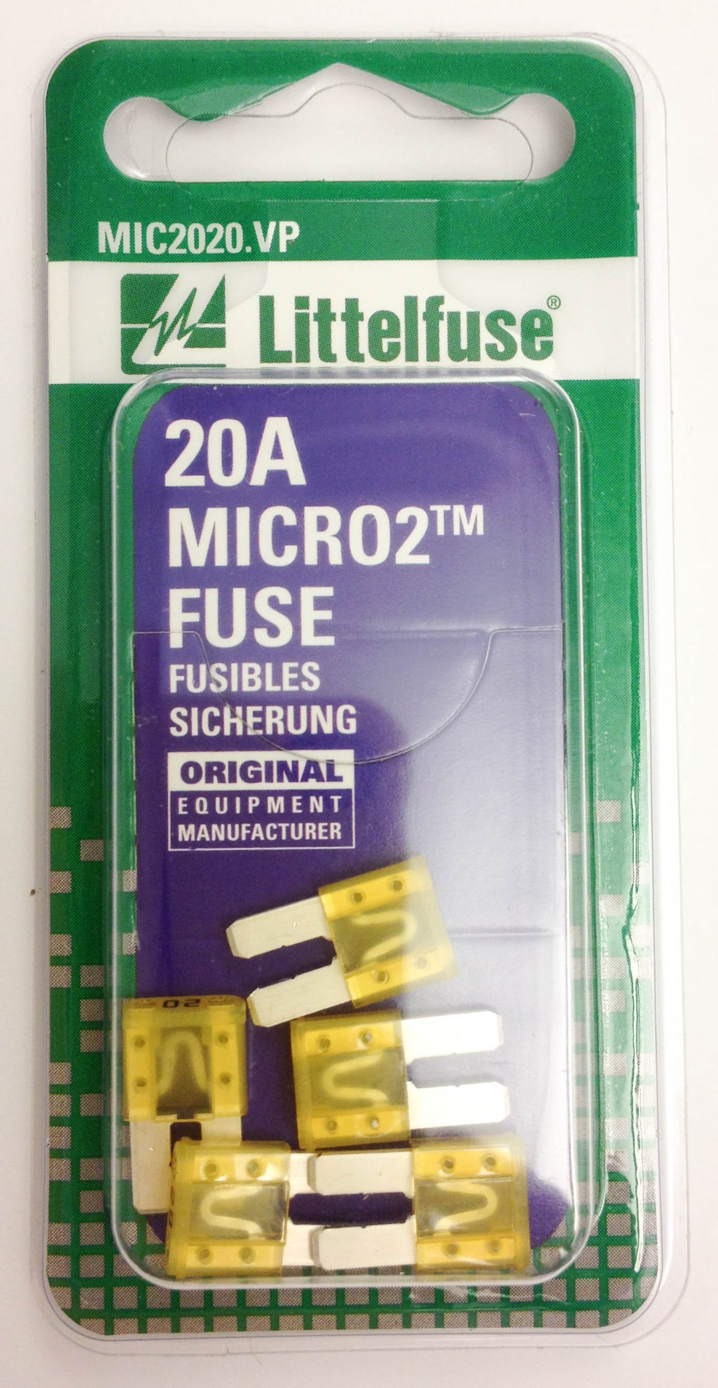 5 Flosser 501875 7-1//2 Amp Three Blade Fuses Micro 3 Type Made in Japan