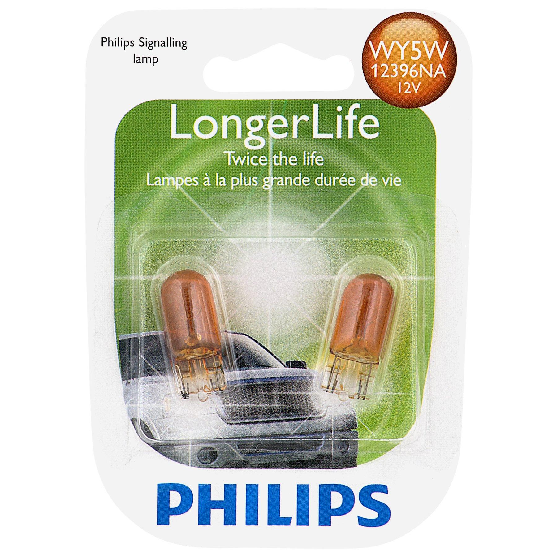 2 Pack 3456LLB2 Philips 3456 LongerLife Miniature Bulb
