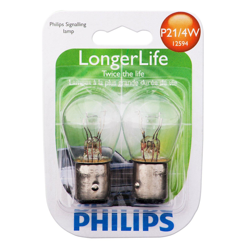 NEW Philips P21//5W Automotive 2-Pack 12499B2 Bulb