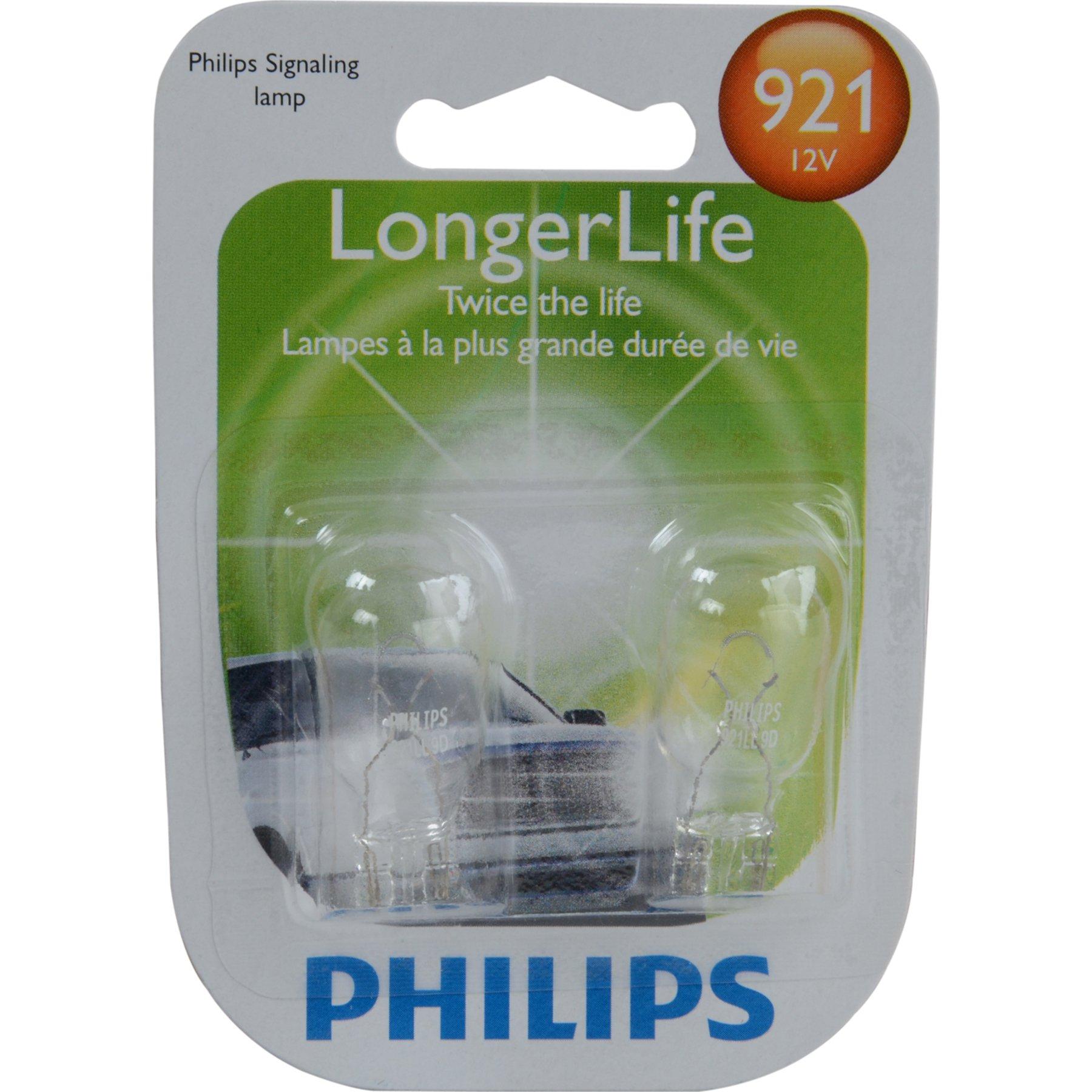 Back Up Light Bulb-Sedan Philips 921LLB2