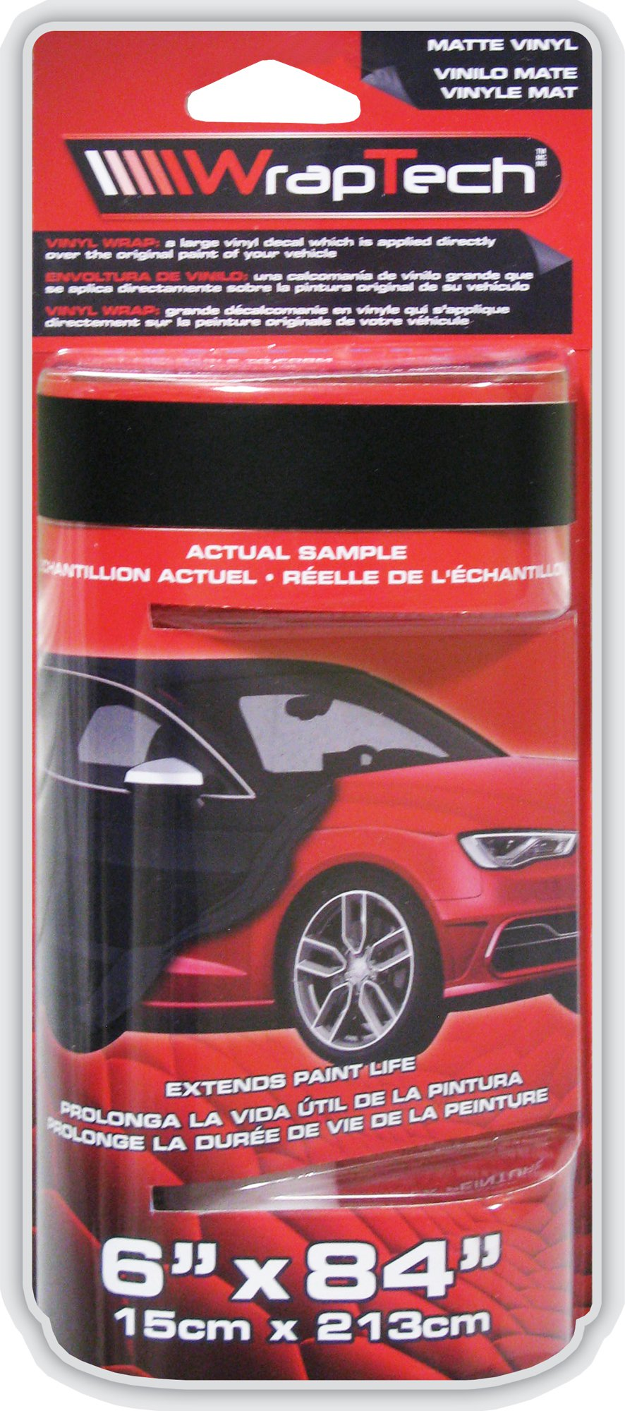 Wraptech Flat Black Vinyl Wrap 29202 84902292022 Ebay