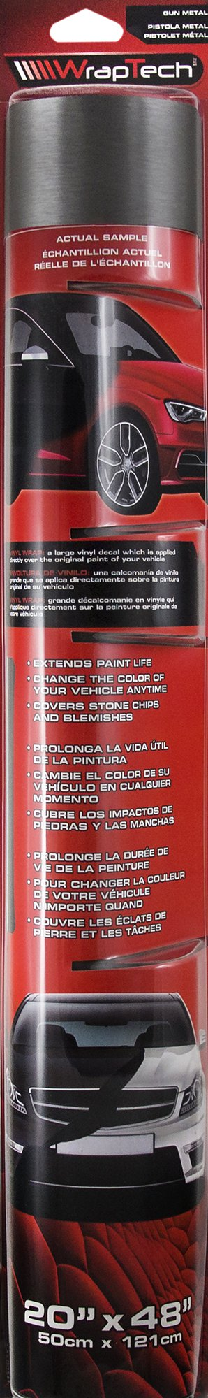 Wraptech Gun Metal Vinyl Wrap 45520 Ebay