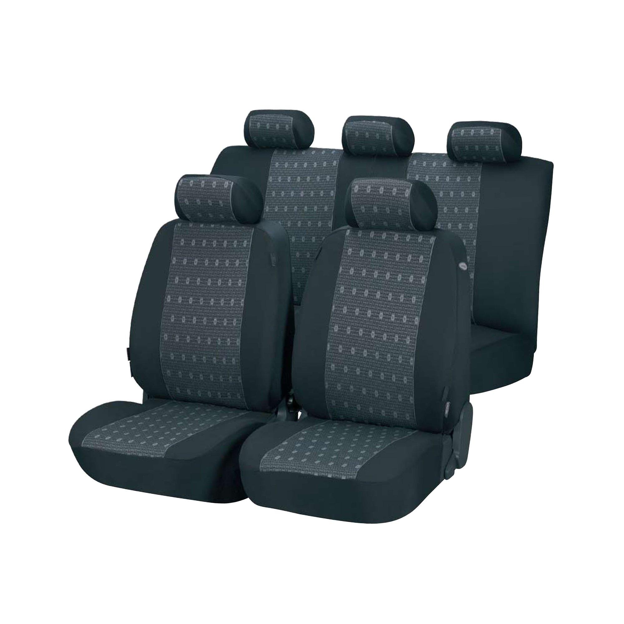 Fine Details About Masque Innsbrook Seat Covers Grey 4 Piece 67224Es Creativecarmelina Interior Chair Design Creativecarmelinacom