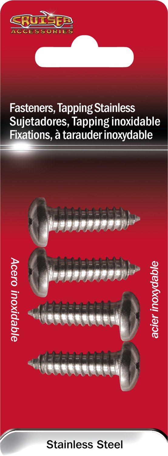 Cruiser Accessories Fastener Tapping Stainless 80430