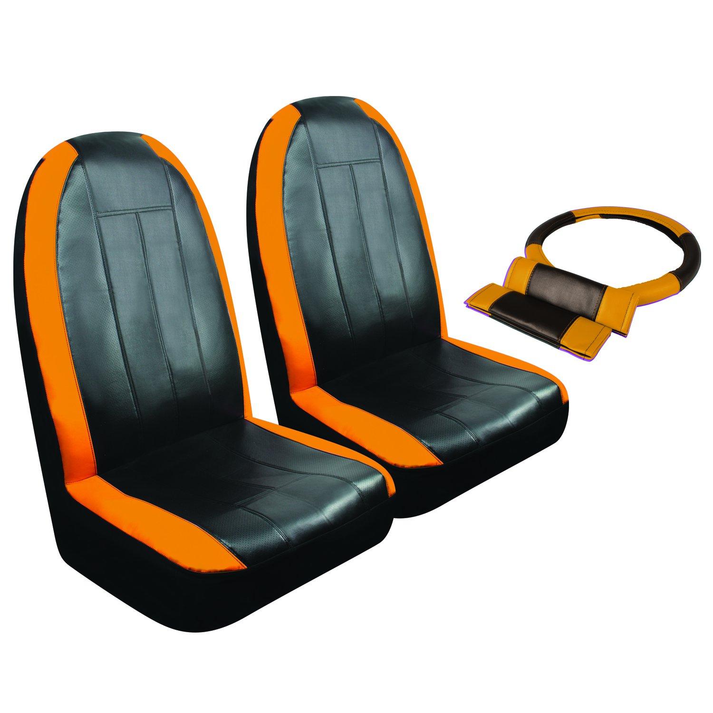 Orange SC306N Pilot Automotive Sport Synthetic Leather Hb Kit