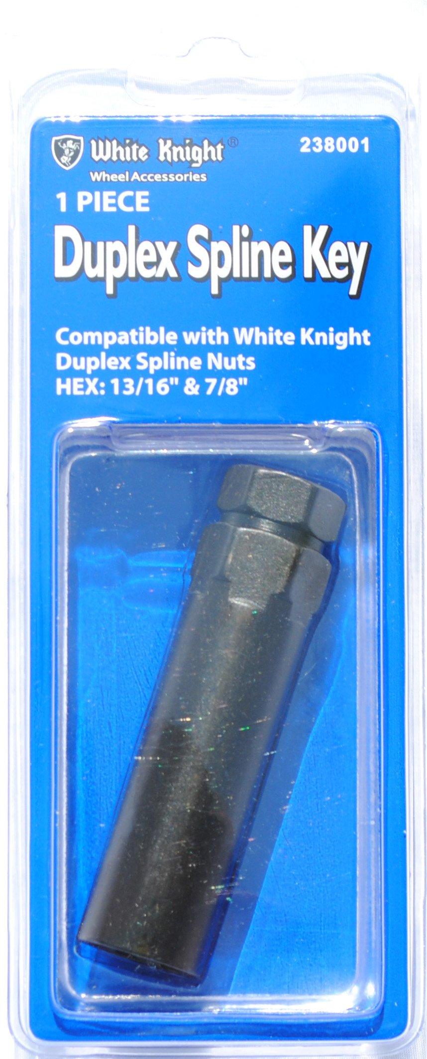 "Key Duplex 6-Spline Installation Tool for DP Brand 13//16/"" /& 7//8/"" Lugs"