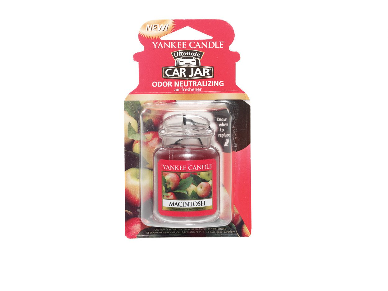 Details about Yankee Candle Macintosh Apple Car Jar Ultimate 1220885