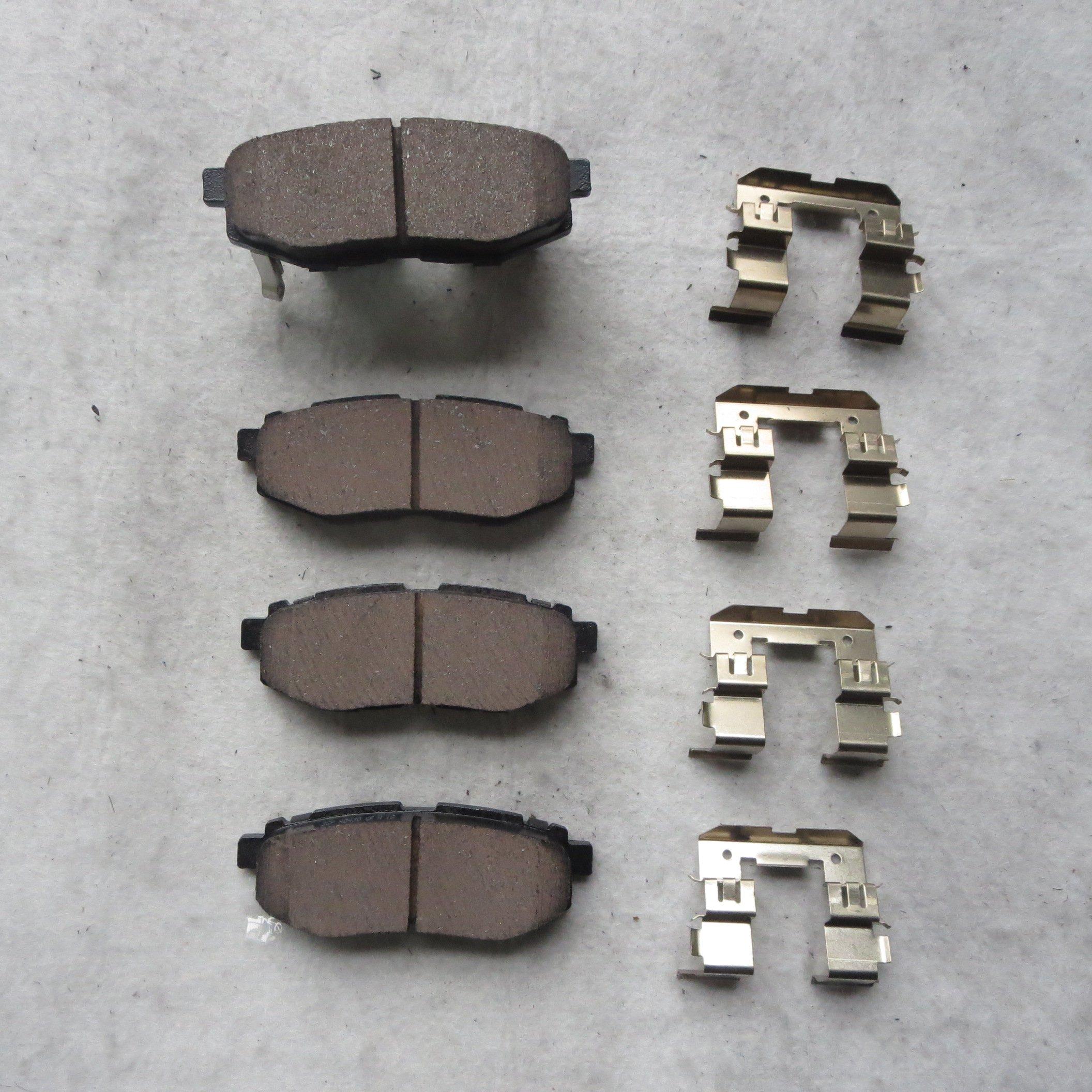 ProStop Ceramic Brake Pads Front  And Rear For 2012-2016 Kia Sportage