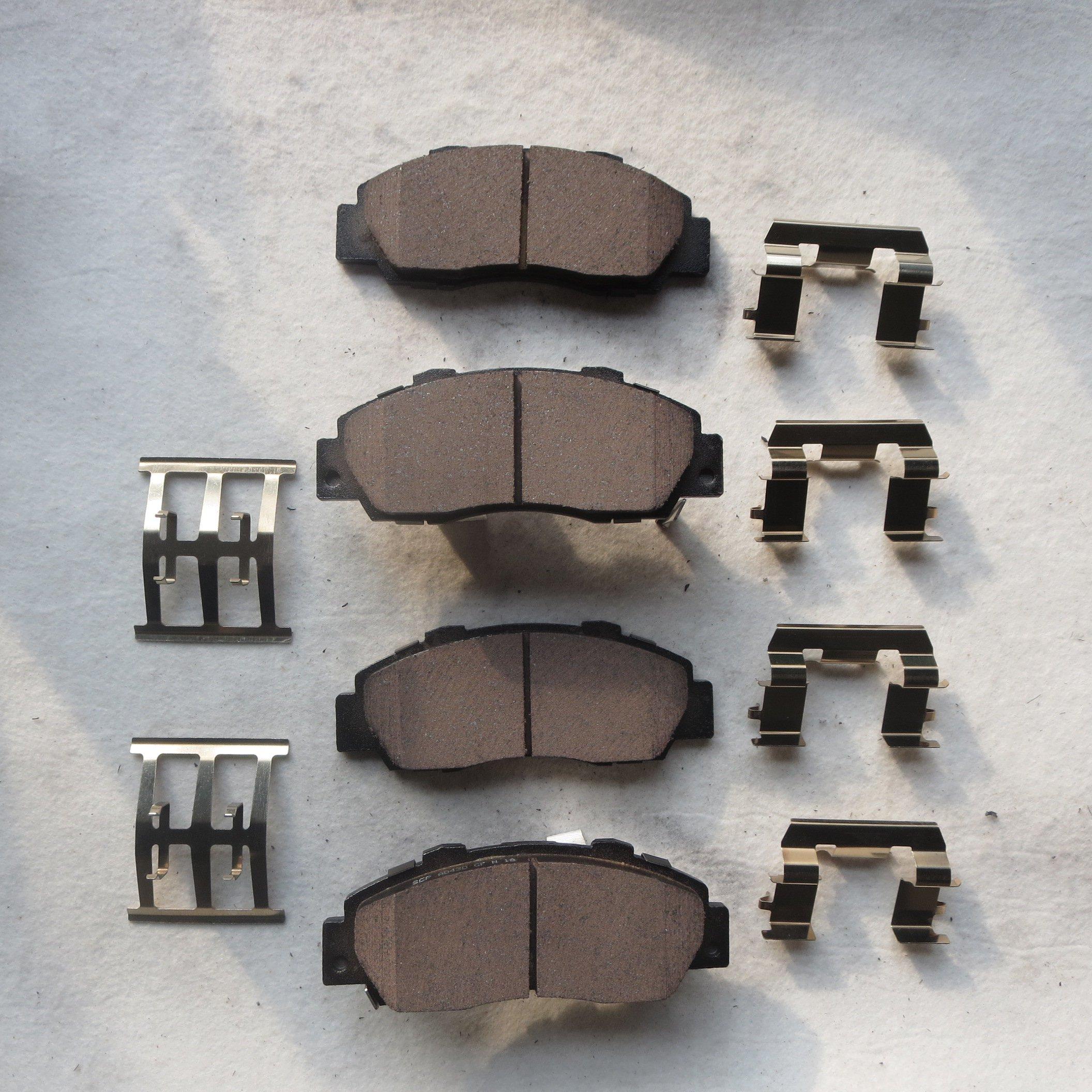 PROSTOP Front and Rear Ceramic Brake Pads Kit For 2013-2016 Hyundai Elantra