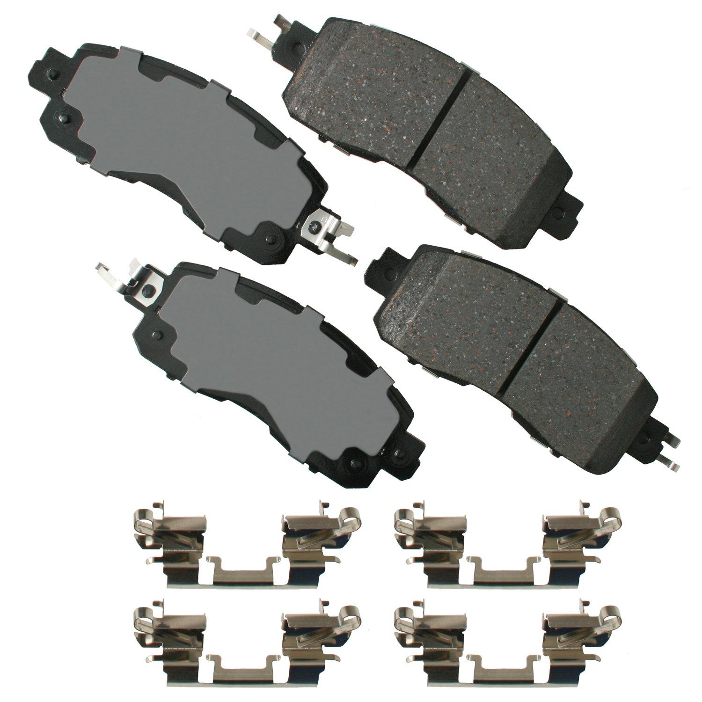 Akebono ACT1467 Pro-ACT Ultra-Premium Ceramic Brake Pad