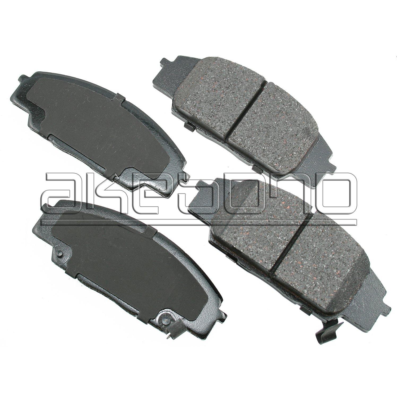 Akebono Performance ASP1118 Akebono Performance Ultra Premium Ceramic Disc Brake Pad Kit