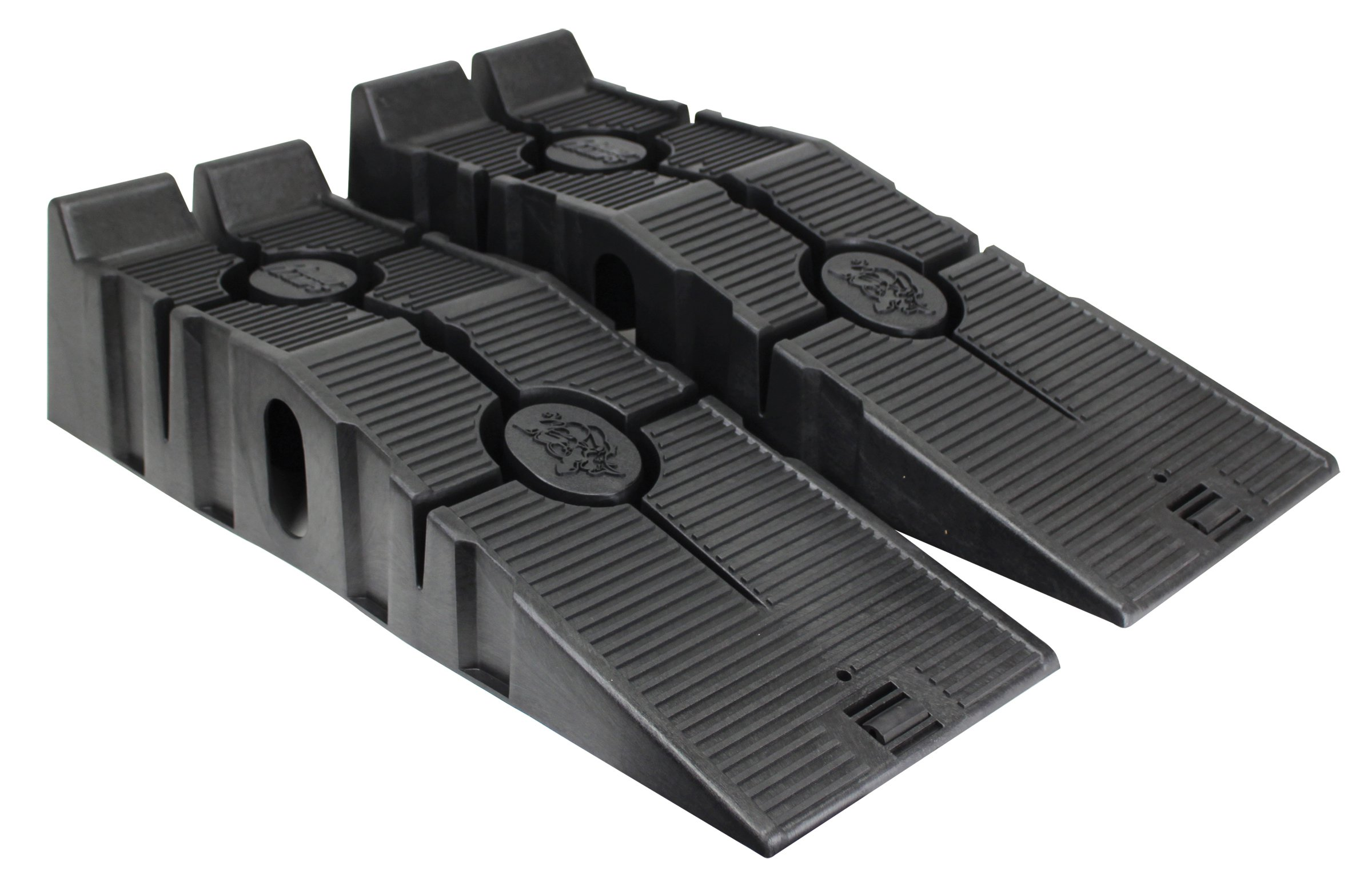 Black car ramps shower tray waste fitting