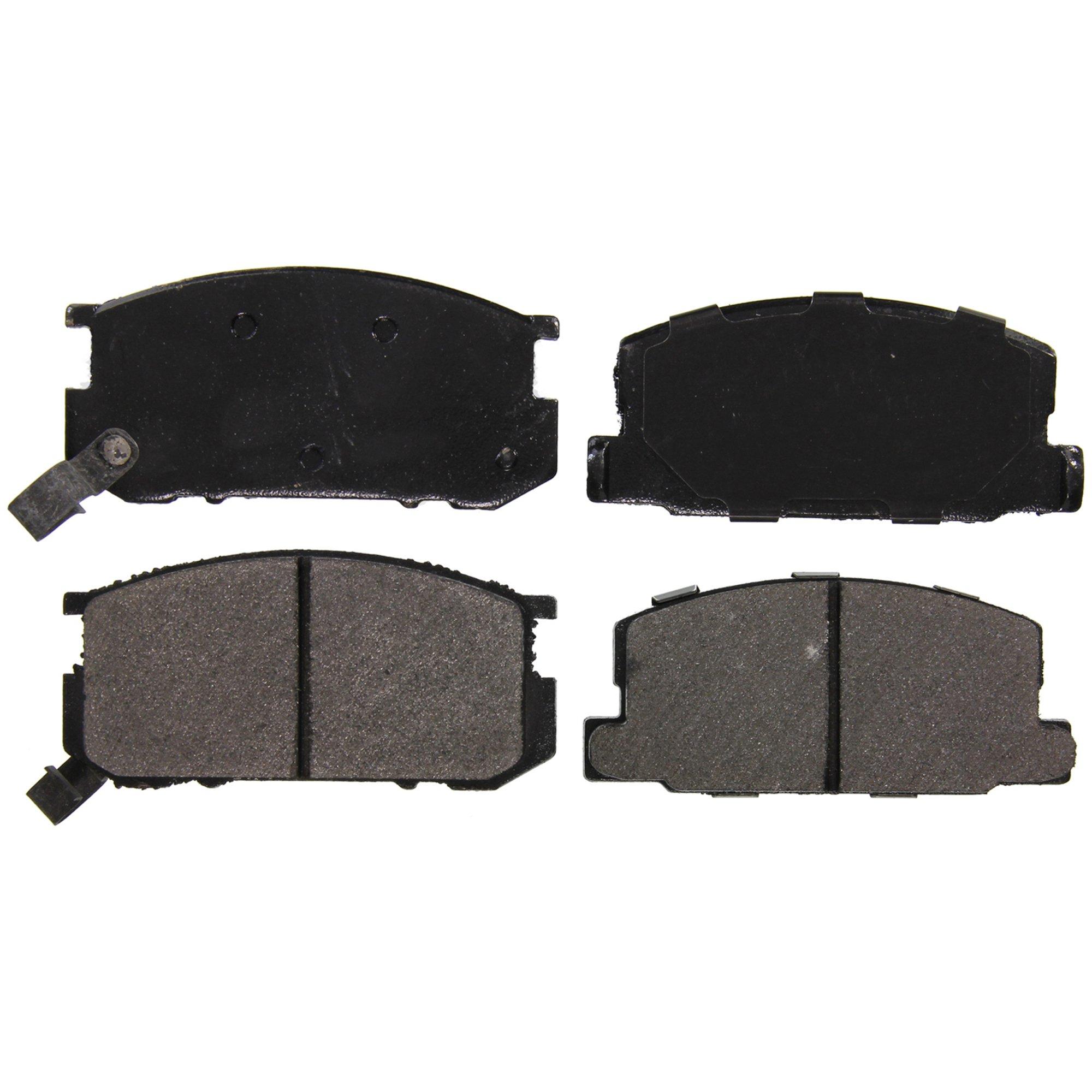 Disc Brake Pad Set-ThermoQuiet Disc Brake Pad Front fits 81-87 Toyota Corolla