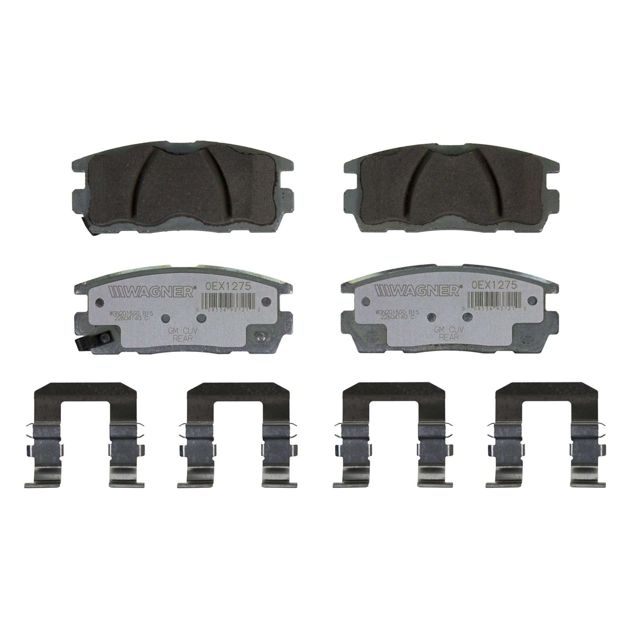 Details about Wagner OEx Ceramic Disc Brake Pad Set OEX1275