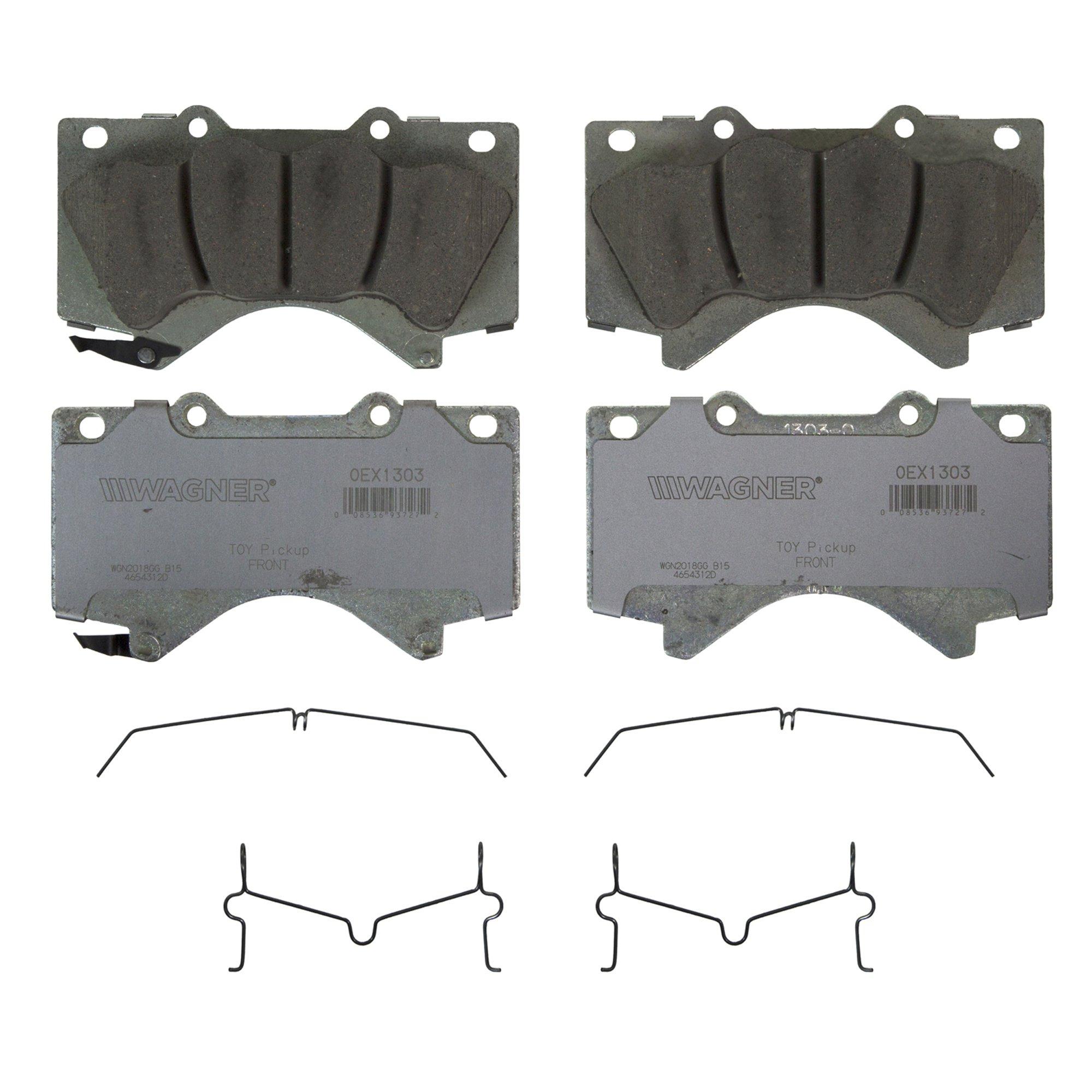 Details about Wagner OEx Ceramic Disc Brake Pad Set OEX1303