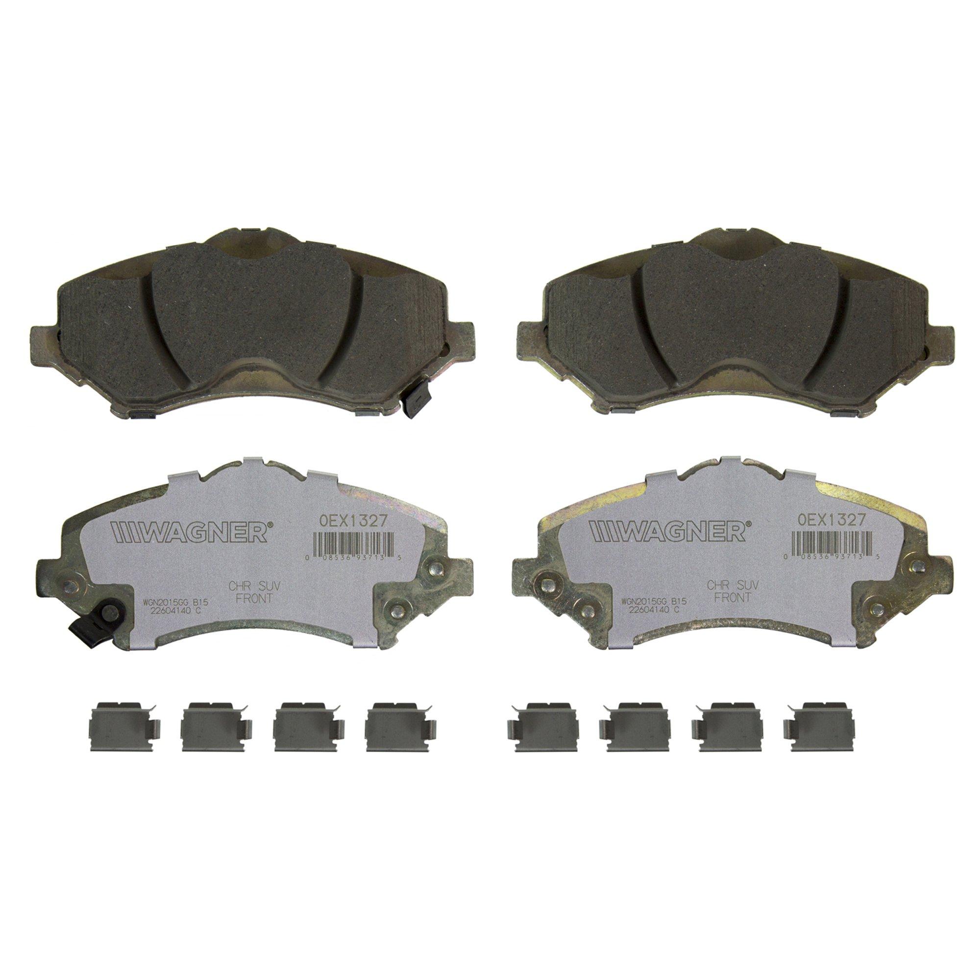 Disc Brake Pad Set-OEX Disc Brake Pad Front Wagner OEX1327