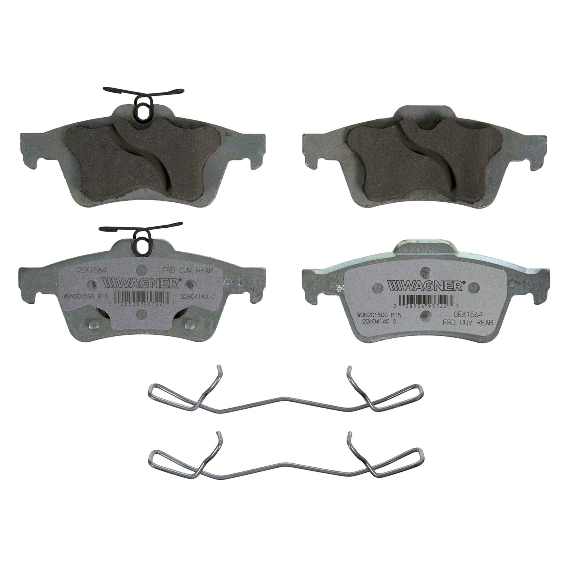 Disc Brake Pad Set-OEX Disc Brake Pad Rear Wagner OEX1564