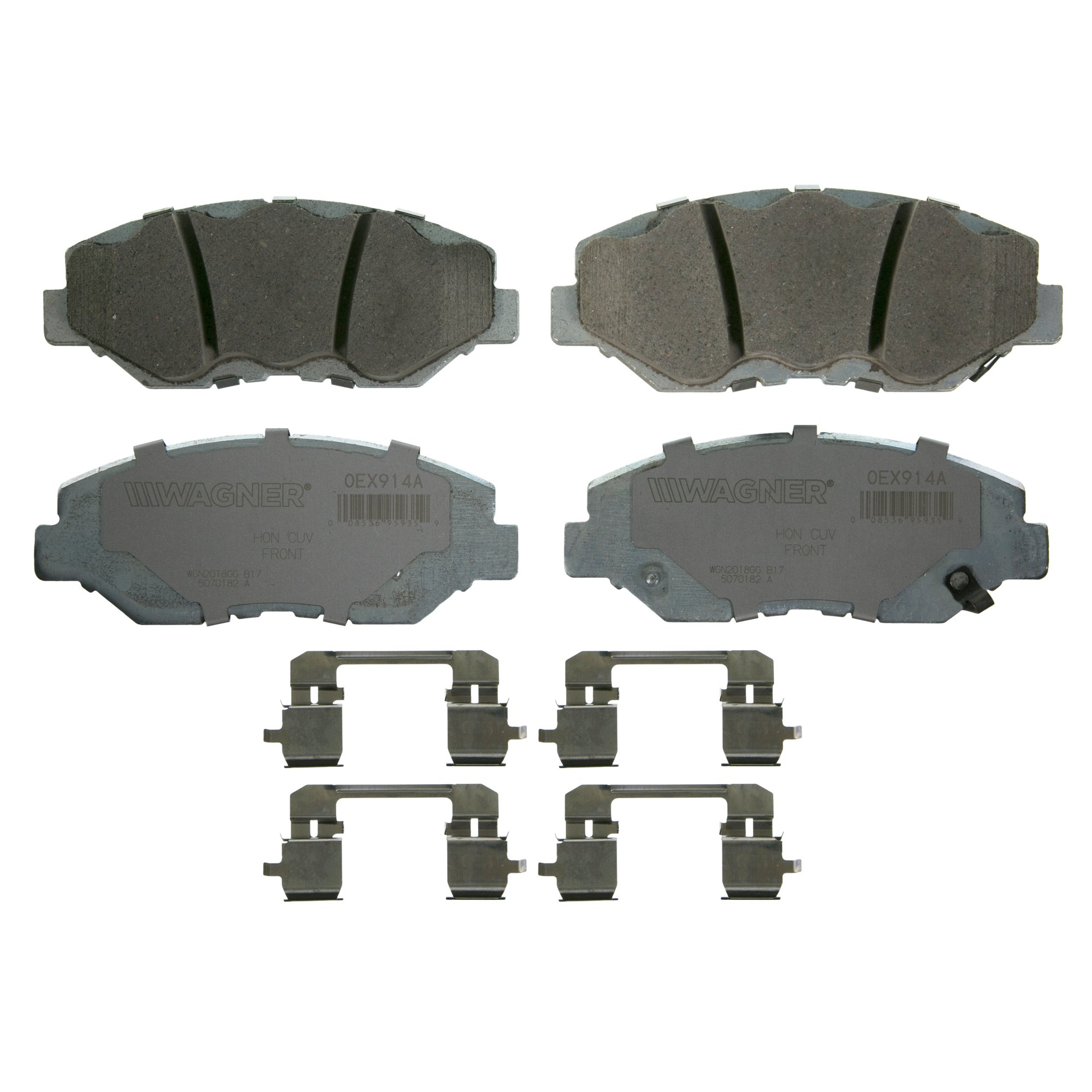 Details about Wagner OEx Ceramic Disc Brake Pad Set OEX914A