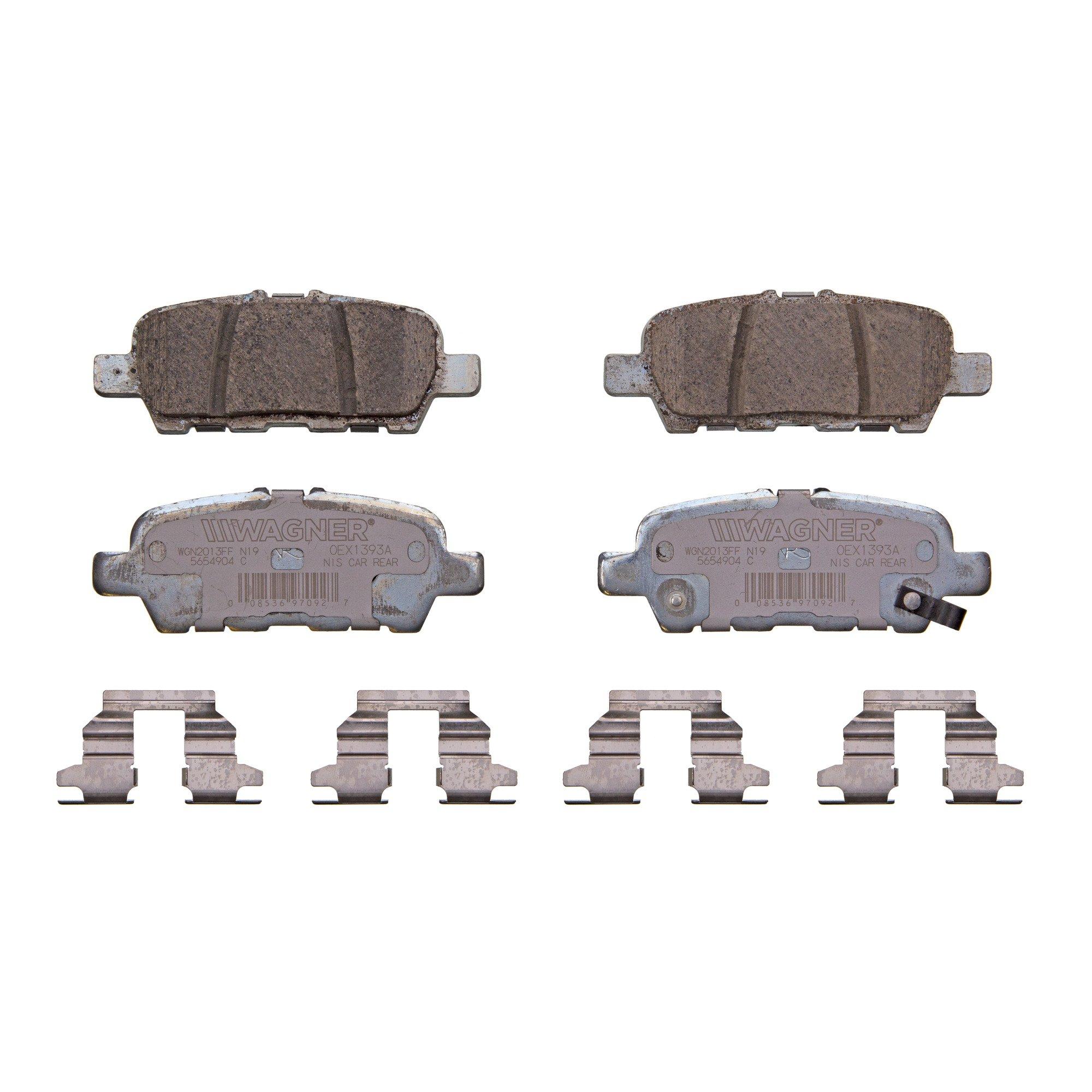 Disc Brake Pad Set-OEX Disc Brake Pad Front Wagner OEX1414