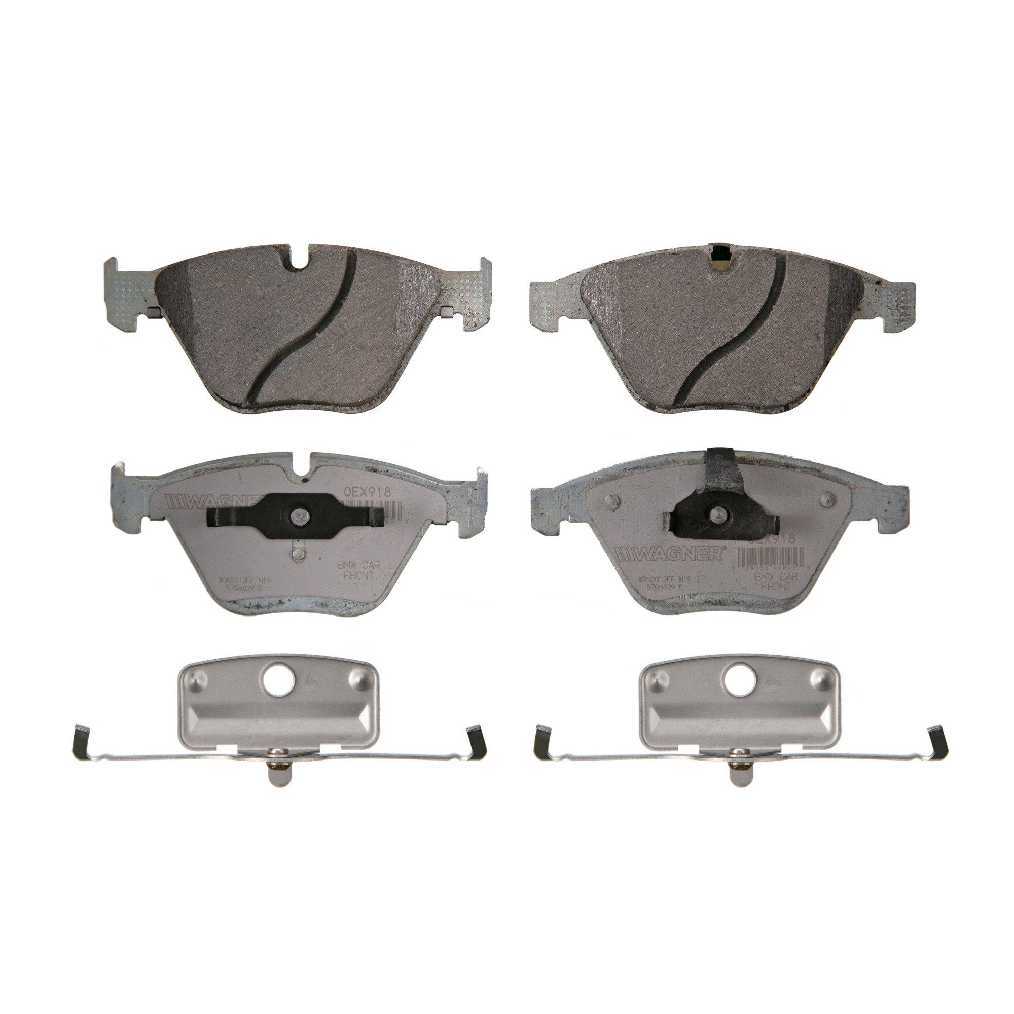 Disc Brake Pad Set-OEX Disc Brake Pad Front Wagner OEX1123