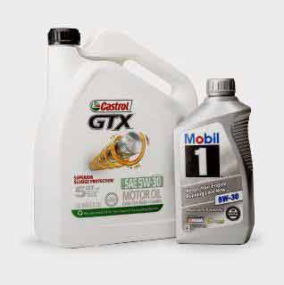 Shop Oil & Fluids