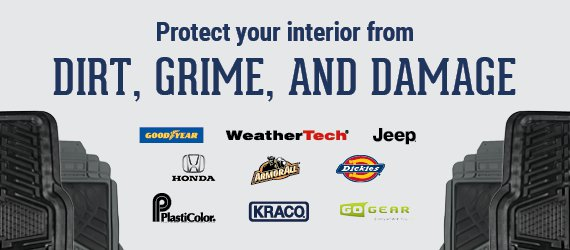 Protect Your Interior From Dirt, Grime, and Damage