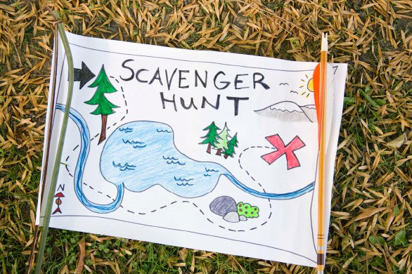 'Places Take Your Car This Summer Scavenger Hunt Banner'