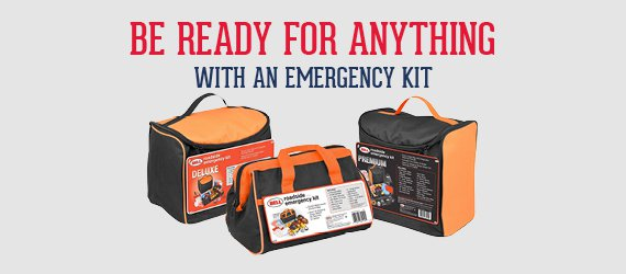Be Ready for Anything with an Emergency Kit