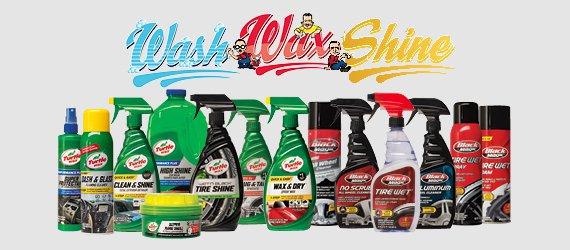 Wash, Wax, and Shine
