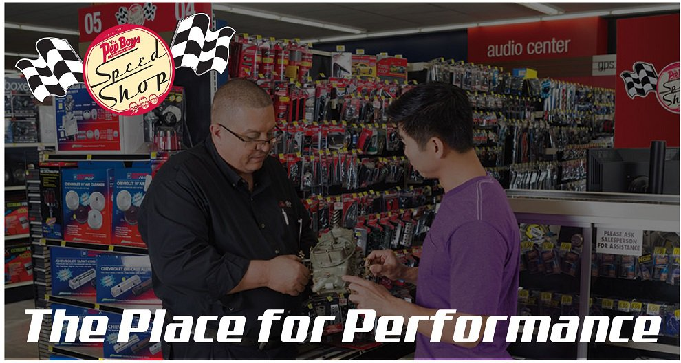 Speed Shop, Performance Parts, Air Intake Systems | Pep Boys