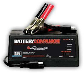 Schumacher® SEM-1562A 1.5 AMP Automatic Battery Charger/Maintainer