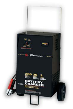 Schumacher® mSC-2352 Manual 12v Wheel Charger w/ Engine Start