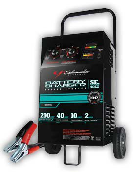 Schumacher® SE-4022 Wheel Charger, 6/12v, Timer Controlled